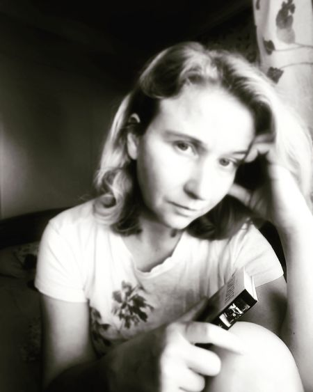 RGB in not for me) Monochrome Photography Old-fashioned One Young Woman Only Portrait Of A Woman Thoughts And Memories