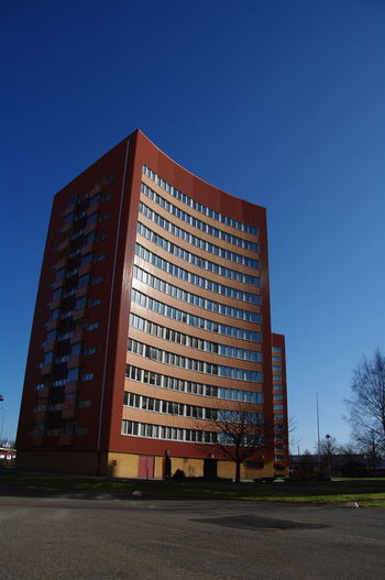Architecture Building Exterior Built Structure Clear Sky Low Angle View Tower Outdoors Apartment Architectural Feature No People Summer Eyem Göteborg Check This Out Window Architecture Hanging Out
