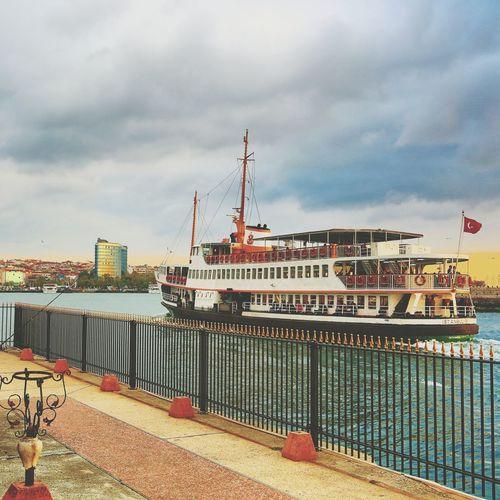 Sunset Turkey Istanbul City Sea ?
