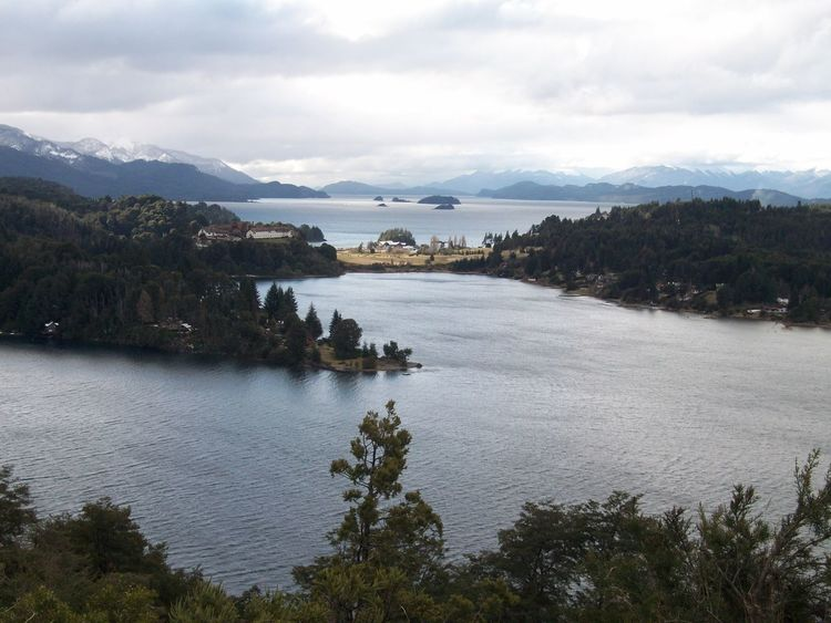 Bariloche, Argentina Beauty In Nature Lakeshore Mountain Mountain Range No People Outdoors Scenics Tranquil Scene Tranquility Water