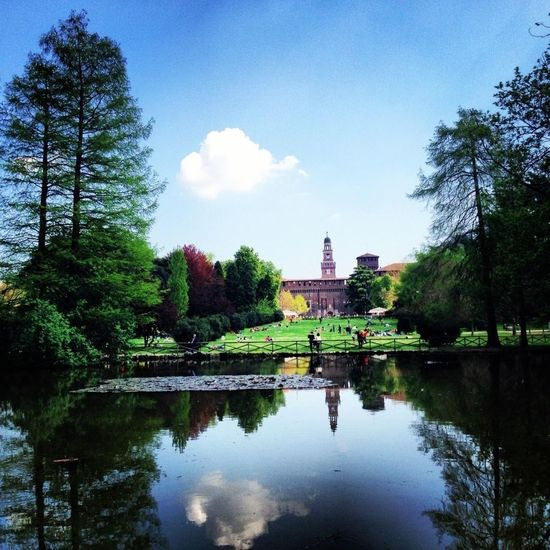 Spring Peaceful Parco Sempione