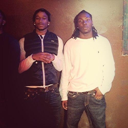 Me and Kayln at the strip club TTU