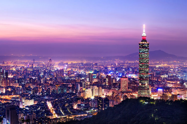 101 Aerial View Architecture Building Exterior Built Structure City Cityscape Community Composition Crowded Development Human Settlement Modern Office Building Outdoors Perspective Residential District Skyline Skyscraper Taipei Tall Top Perspective Tower Urban Scene