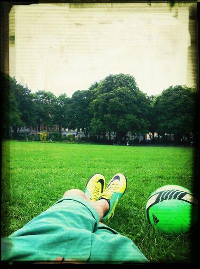 Im Park Fussball