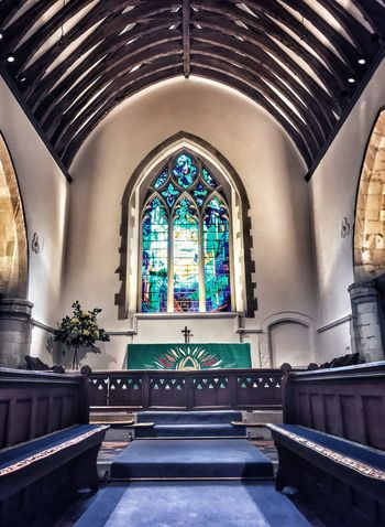 Saving my soul Architecture Religion Belief Built Structure Indoors  Spirituality Stained Glass Altar