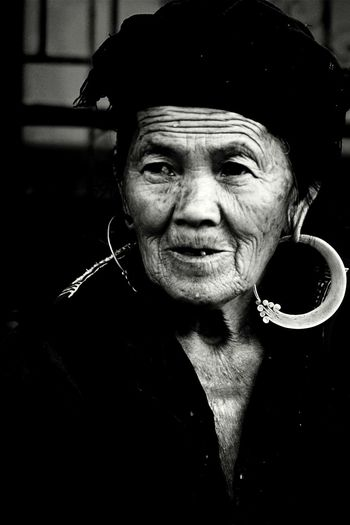 Travel PhotographyTravel Photography Eyeem People + Portrait EyeEm Vietnam Faces Of EyeEm Mucangchai Vietnam October2015 Black And White Portrait People Photography People Of EyeEm Oldman
