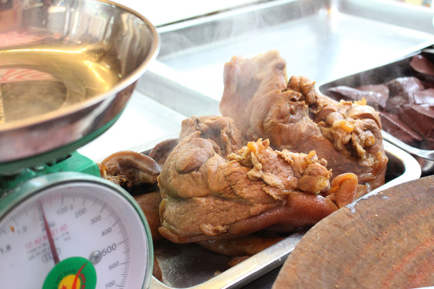 Close-up Day Food Food And Drink Freshness Indoors  Luocthit No People Phalau Phá Lấu Ready-to-eat Thit Luoc Thit Luoc Vietnamfood Vietnamfoods Vietnamfoodstreet