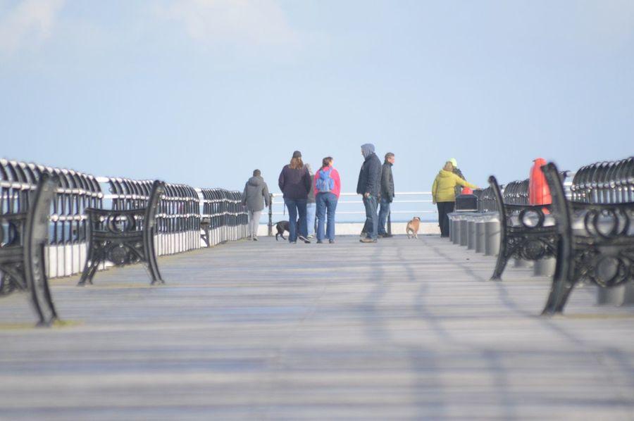 October morning on Saltburn pier Pier, Saltburn,