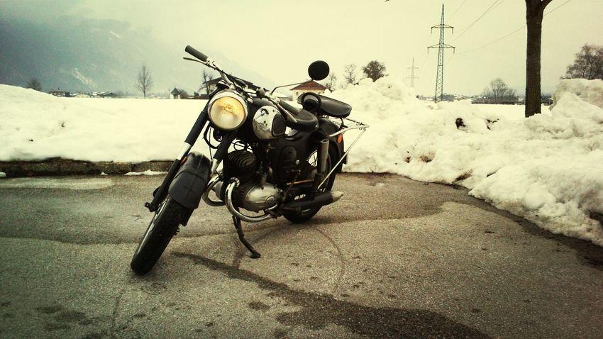 Oldtimer Motobike Amazing Puch sv125, 1956