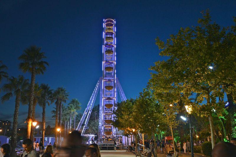 Ferris Wheel Lavandou France First Eyeem Photo Beautiful View High People Late Night The Traveler - 2015 EyeEm Awards