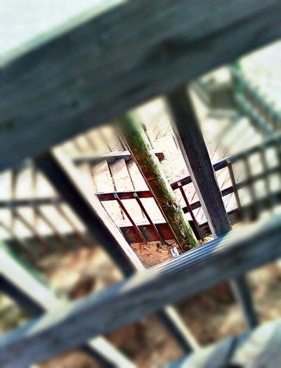 Virtigo At The Beach Staircase Vertigo