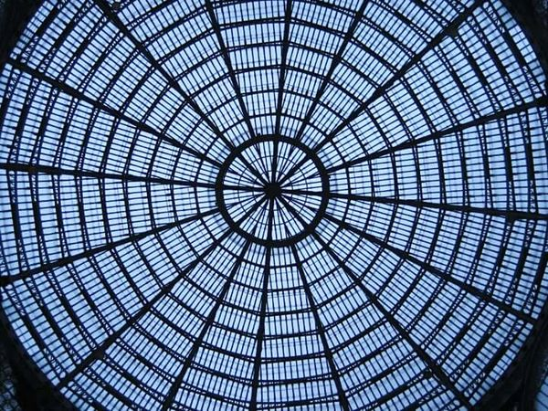 Galleria Umberto I, Napoli. Naples Architecture Italy Glass Simmetry Galleria Umberto Napoli Architectural Detail Architecture Details Sky Sky Through Window Light And Shadow