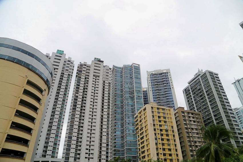 Architecture Building Exterior Built Structure City Cityscape Day Facades House Front Low Angle View Modern No People Outdoors Sky Skyscraper
