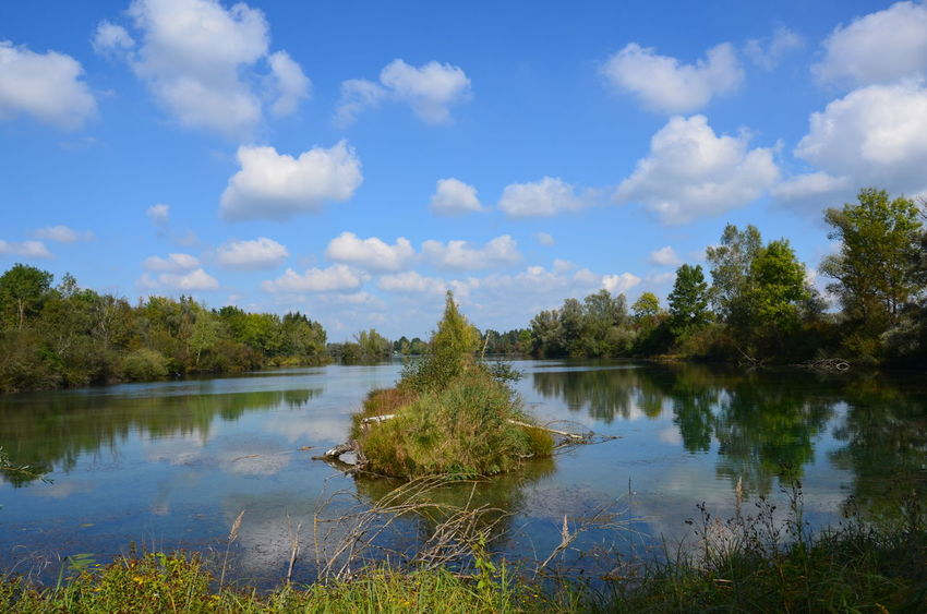 Nikon Beauty In Nature Cloud - Sky Day Growth Lake Nature No People Outdoors Reflection Scenics Sky Tranquil Scene Tranquility Tree Water Weitmannsee