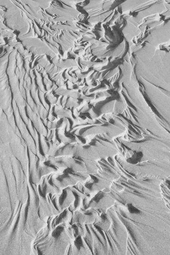 Abstract Blackandwhite Calm Flinders Island Tasmania Sand Tasmania Texure Tide Out Waves, Ocean, Nature