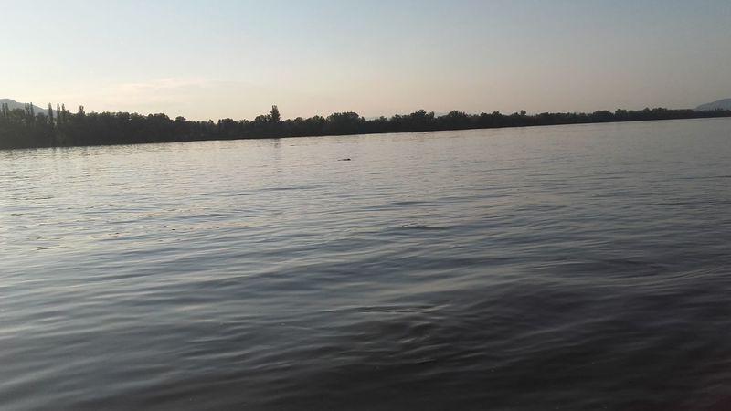 Viz Folyo River Természet Nature Photography Sunset Naplemente Sonnenuntergangsky