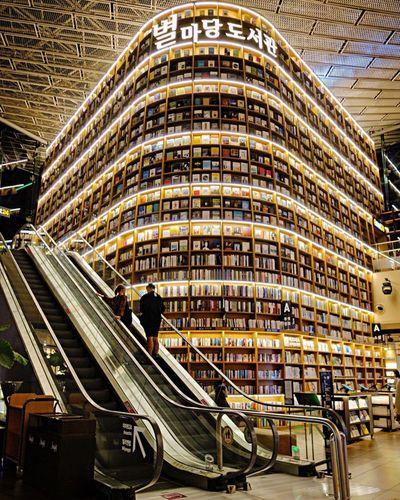 Seoul Starfield Library Traveling Iamonmywaytoeverywhere Korea