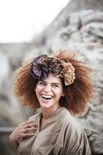 EyeEm Selects Smiling Portrait Women One Person Happiness Adult Headshot Teeth Emotion Young Adult Toothy Smile Beautiful Woman Fun Lifestyles Beauty Cheerful Focus On Foreground Hair Hairstyle Young Women The Portraitist - 2019 EyeEm Awards