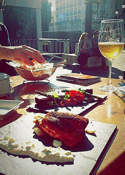 What's For Dinner? Eating Food Tapas SPAIN Beer Sunnydays Good Mood ??