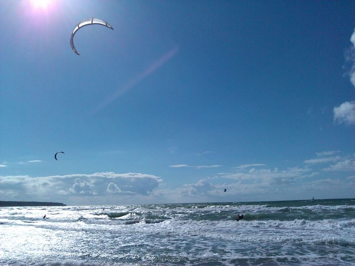 Life Is A Beach Kite Surfing EyeEm Best Shots Waves