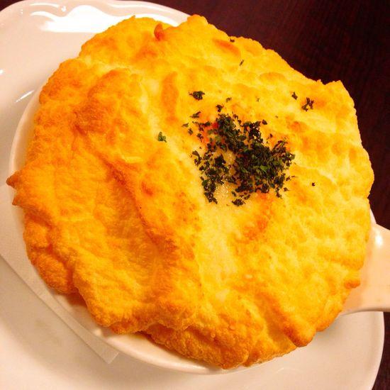 Souffle Omelette Döria Fluffy Yummy in Shibuya