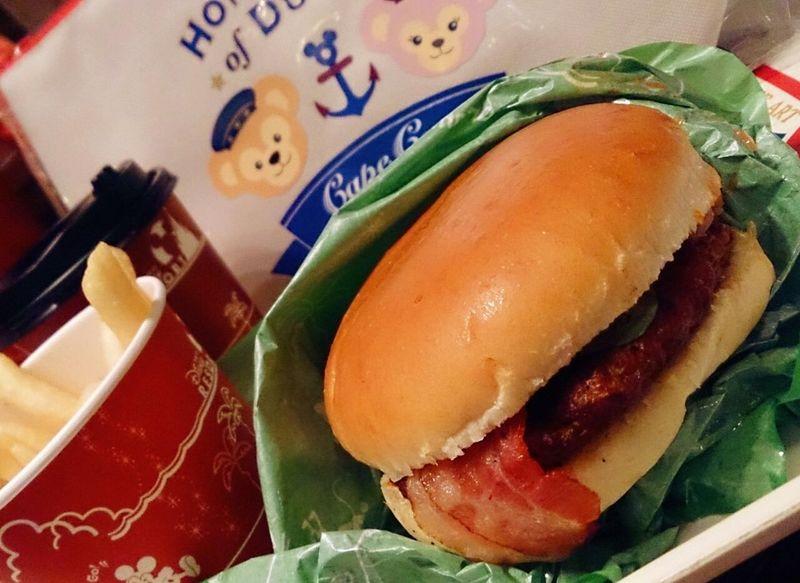 夜ごはん☆ Dinner Food Porn Humburger Disney