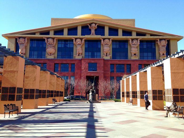 Architecture Sculpture Disney Animation Studios