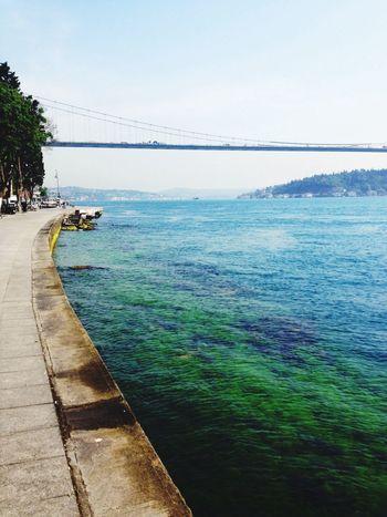 Morning Jog Colour Of The Sea Bosphorus Rumelihisari