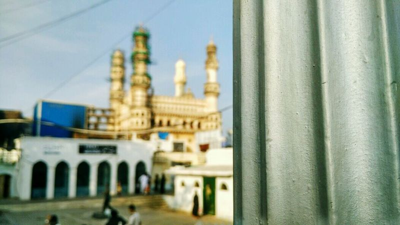 Charminar Architecture Travel Destinations Indianheritage Hyderabaddiaries Hyderabadcity Wanderersoul Building Exterior MIphotography Blur Background Blur On Purpose EyeEmNewHere