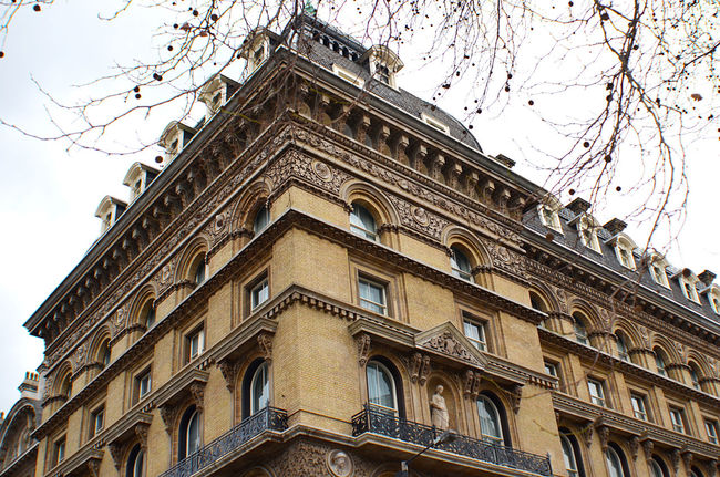 EyeEm LOST IN London Architecture Bare Tree Building Exterior Built Structure City Day History Low Angle View No People Outdoors Sky Travel Destinations Window