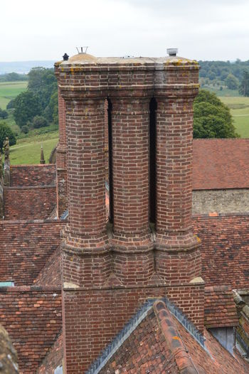 chimney on rooftop Chimney Chimneys Historical Building Roof Rooftop Chimney Stacks Chimneystack Rooftop View