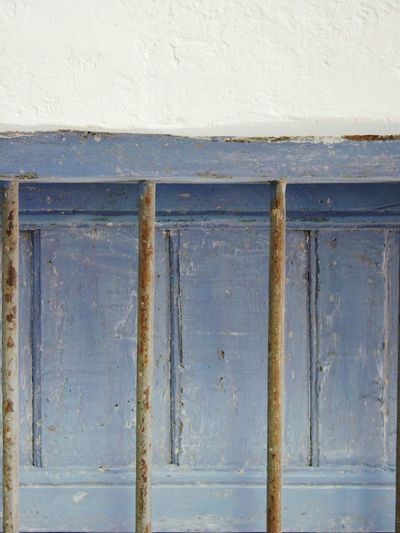 GREECE ♥♥ Old House Windows Rusty Railing Old Wooden Window