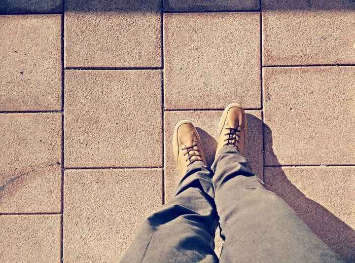 Foot Selfie on a sunny Friday Afternoon