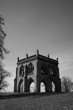 Arch Architecture Babelsberg Babelsberger Park Blackandwhite Day History No People Outdoors Potsdam Sky Tomb Travel Destinations