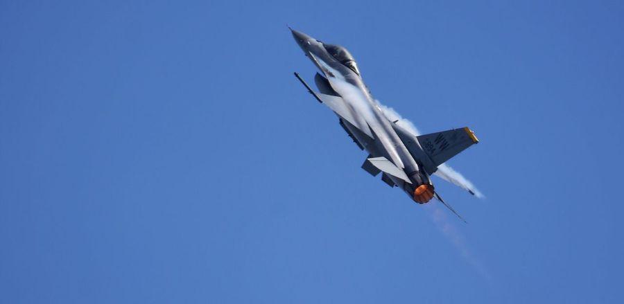 Air show Fighter Jet Warplane Plane Airforce Airshow Afterburner
