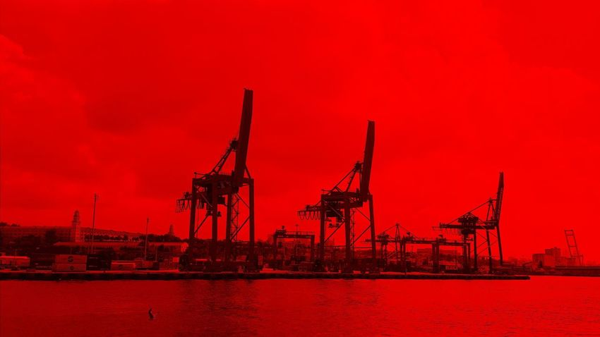Seaport Red Filter Istanbul Bosphorus