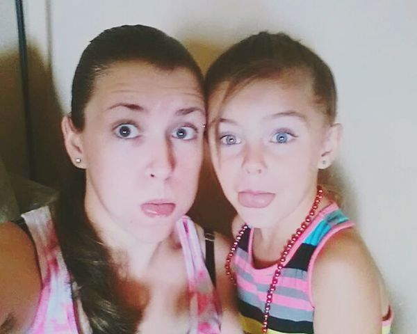 Mom And Daughter Mini Me And I Being Silly Funny Faces Enjoying Life RePicture Motherhood That's Me I Love My Daughter Being Goofy Pretty Girls