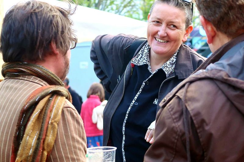 The Portraitist - 2017 EyeEm Awards Brighton Fringe Brighton Festival Season Laughing Festival Outdoors People Beer Garden