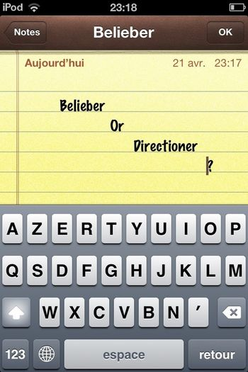Belieber & Directioner