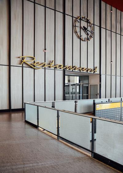 Flughafen Tempelhof  Historical Place Restaurant Retro Vintage Minimalist Architecture