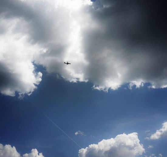 Photography Relaxing Check This Out Taking Photos Hello World Hi! Enjoying Life Vilnius Minimalism Lithuania Calm Vilnius City Lithuanianboy Lithuania Nature Vilniuscity Sky Nature Clouds And Sky Plane Fly Blue Blue Sky