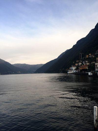 Beautiful village on Lake Como