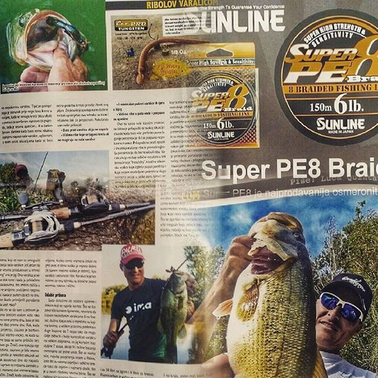 My article in Prakticni Ribolov, the best Croatian magazine for spinning. Bass Bassfishing Article Magazine Croatia Spinning