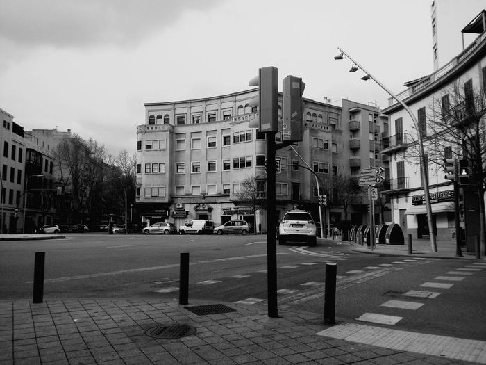 City Street City Street Building Exterior Outdoors Built Structure No People Day Traffic Light  Traffic Lights Car Black And White Black And White Collection  Black & White Black And White Photography Black & White Photography Black&white Photography Blackandwhitephoto Blackandwhite Blackwhite Blacknwhite Black&white Trafficlight