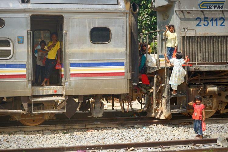 New playground Capture The Moment Train Flood2014 Kglimaukasturi Childrenplaying Malaysia Kelantan Playground Aftermath First Eyeem Photo