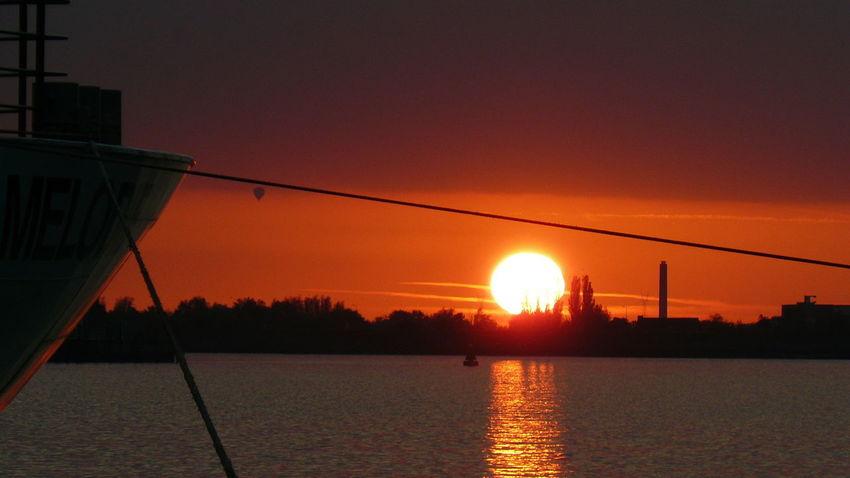 Water Sunset City Sun Silhouette Bridge - Man Made Structure Sunlight Sky Architecture Built Structure