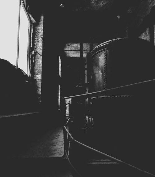 Ein Blick Zurück. Maschinenraum Bötzow Brauerei