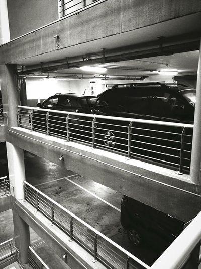 Indoors  No People Cars Black Cars Parking Garage My Job World