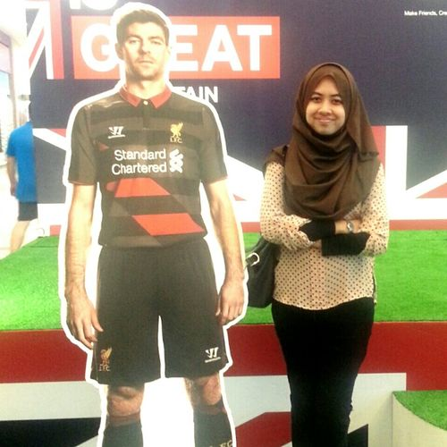 Liverpool Liverpool Football Club Liverpoolfan Liverpoolfc Liverpool Fc Liverpoolcaptain with the captain.. :) you never walk alone That's Me