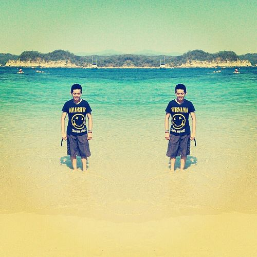 Sea Ocean Blue Coast Me DoubleMe Wet Sun Bestweekend